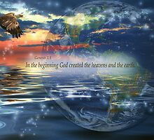 Genesis 1:1 by Kelly Rockett-Safford