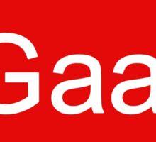 Louis Van Gaal out Sticker