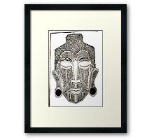 Buddha (Pattern Print) Framed Print