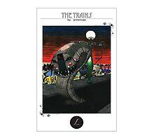 L train Photographic Print