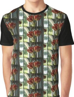 Of Tulips and Garden Windows Graphic T-Shirt