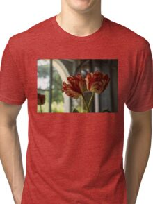 Of Tulips and Garden Windows Tri-blend T-Shirt