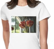 Of Tulips and Garden Windows Womens Fitted T-Shirt