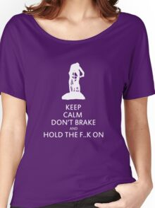 Cross country MTB: KEEP CALM Women's Relaxed Fit T-Shirt