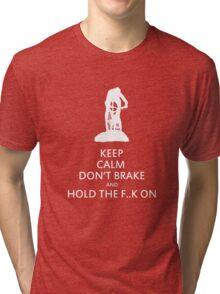 Cross country MTB: KEEP CALM Tri-blend T-Shirt