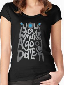 Good Dalek Women's Fitted Scoop T-Shirt