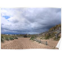 Lossiemouth Bridge and Path Poster