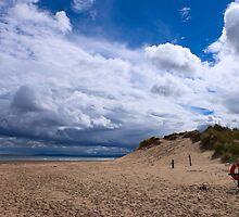 Lossiemouth Beach by AlbertLake