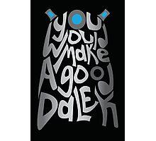 Good Dalek Photographic Print