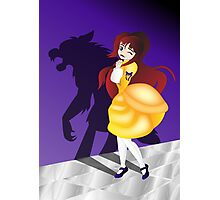 Twisted Tales - Beauty and the Beast Photographic Print