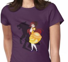 Twisted Tales - Beauty and the Beast Womens Fitted T-Shirt