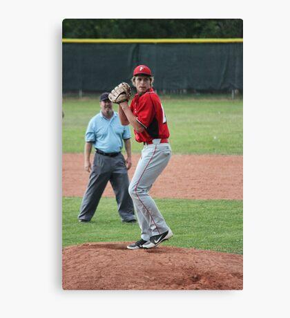 The Pitcher Canvas Print