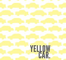 Yellow Car by killercabbies