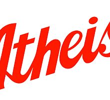 Classic Atheist Script by Tai's Tees by TAIs TEEs
