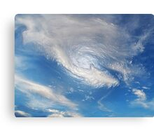 Something in the water ... Canvas Print