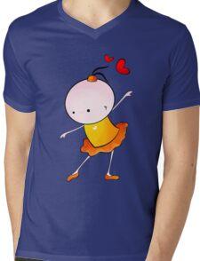 lovely Ballet dance 2 Mens V-Neck T-Shirt