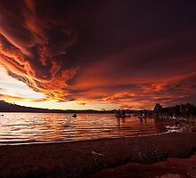 Mono Lake – Smoldering skies by Owed to Nature