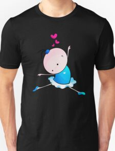 lovely Ballet dance 3 Unisex T-Shirt
