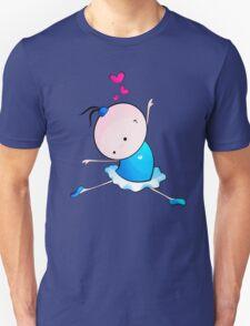 lovely Ballet dance 3 Unisex T-Shirt