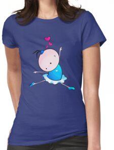 lovely Ballet dance 3 Womens Fitted T-Shirt