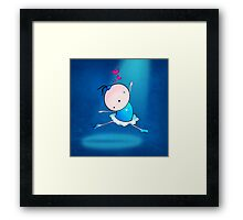 lovely Ballet dance 3 Framed Print