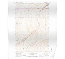 USGS Topo Map Washington State WA Ritzville SW 243469 1967 24000 Poster