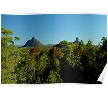 glasshouse mountains 3 Poster