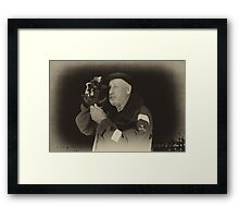 Captain Pete Framed Print