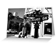 Glitz and Glam: Rodeo Drive Greeting Card