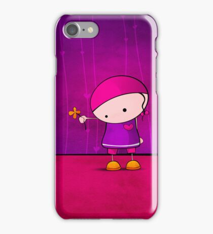 A flower for you iPhone Case/Skin