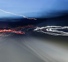In The Midst of Light Trails by CameronHorner