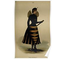 Fancy dresses described or What to wear at fancy balls by Ardern Holt 152 The Hornet Poster