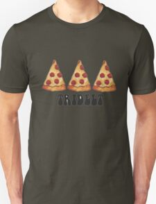 tridelt pizza Unisex T-Shirt