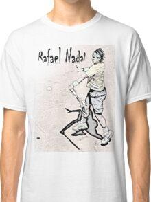 Forehand stroke (Rafael Nadal) Classic T-Shirt