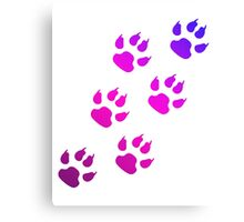 Dog Paws Canvas Print