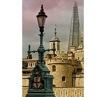 Towering Shard. Photographic Print