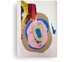 Pig ribbon  Canvas Print