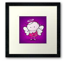 Cute Angel Framed Print