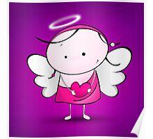 Cute Angel Poster