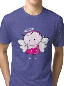 Cute Angel Tri-blend T-Shirt