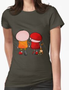 Lovely Couple Womens Fitted T-Shirt