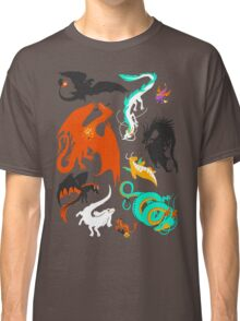 A Flight with Dragons Classic T-Shirt