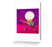 Rockstar Boy Greeting Card