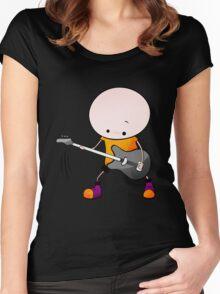 Rockstar Boy Women's Fitted Scoop T-Shirt