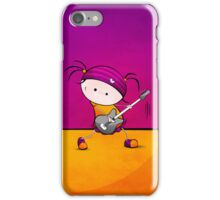 Rockstar Girl iPhone Case/Skin