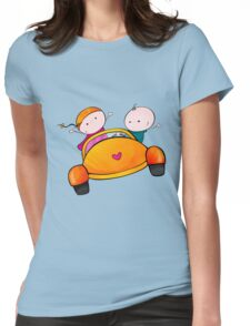 Lovely Road Trip Womens Fitted T-Shirt