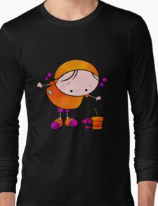 Me And My Flower Long Sleeve T-Shirt