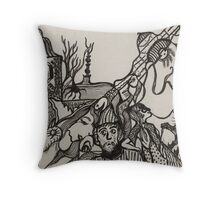 Scary Story Throw Pillow