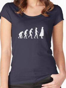 Sherlock - Evolution Women's Fitted Scoop T-Shirt
