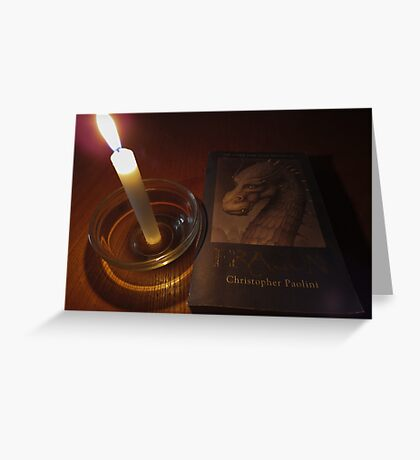 Of dragons and candles.. Greeting Card